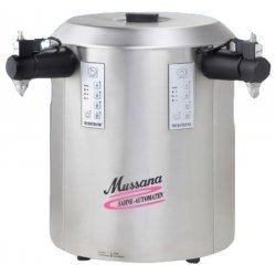 Montadora de nata 2x6 litros Mussana Duo Panel de mando central
