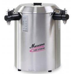 Montadora de nata 2x6 litros Mussana Duo Paneles de mando laterales