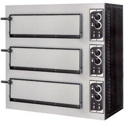 Prismafood BASIC 3/50 de puerta ciega para 3 pizzas de 60x40