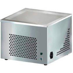 Placa refrigerada para rollos de helado