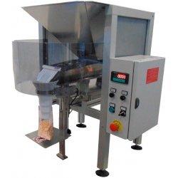Dosificadora pesadora semi automática para productos en grano y en polvo