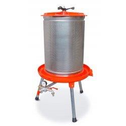 Prensa hidráulica por agua 80 Lt de aluminio