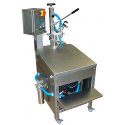 Llenadora semi-automática TOP BB20 con cuadro inox, variador de velocidad, sensor inox 90° C, compresor silenciado