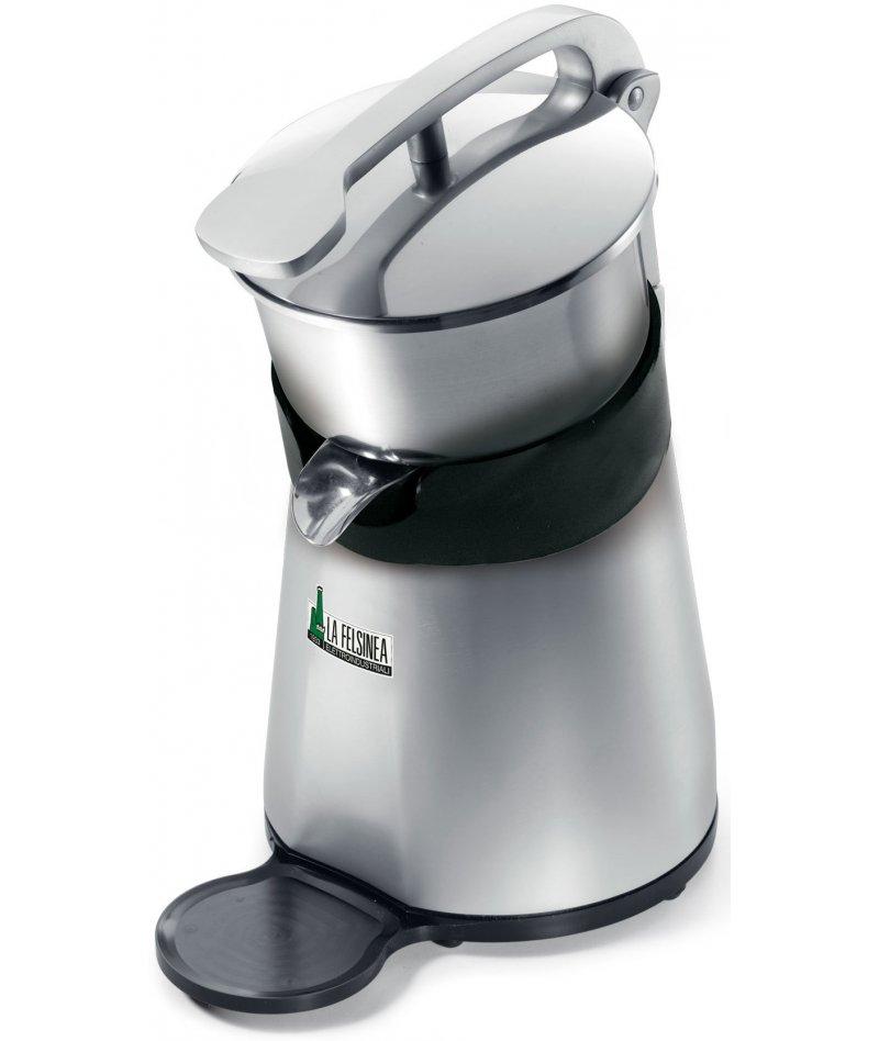 Exprimidor de citricos con variador de velocidad, palanca y tapa de acero SA MAXI L VV