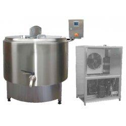Pasteurizadores de leche con grupo de refrigeración PH 200 a 650 litros
