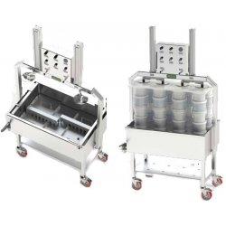 Prensa de drenaje neumática POS 10-50 Kg