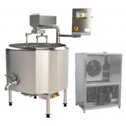Cuba de cuajar queso con grupo de refrigeración SKH-H2 00 a 650 litros