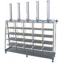Prensa de queso neumática vertical PPS-AU 50-300 Kg