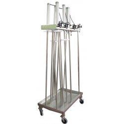 Prensa de queso neumática vertical PPS-A 50-240 Kg