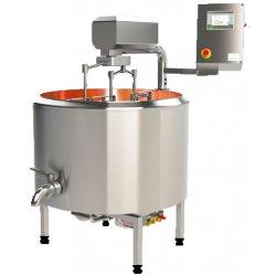 Cuba de cuajar queso de cobre SKHCu300-1500 litros