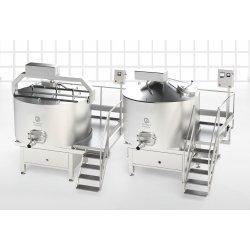 Depósitos y cisternas de queso SKH / SCH 1000–4000 litros