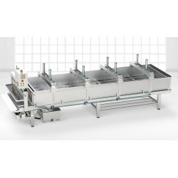 Preprensa de queso con cinta transportadora PRP-RT 2.000-5.000 l