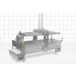 Preprensa de queso automatizada PRP-AT con cinta transportadora de 2.000–10.000 l