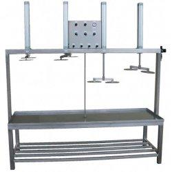 Prensa de queso neumática PPS-U 50-150 Kg