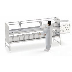 Prensa de queso neumática horizontal PPS-H 50-280 kg