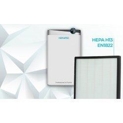 Purificador de aire con filtro HEPA H13 CADR 488 m³/h Airpurtec H488