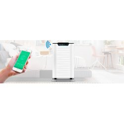Purificador de aire con filtro HEPA H13 CADR 600 m³/h Airpurtec H600