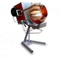 Grageadora para caramelizar garrapiñadas + inverter + soplador de 20 Kg en cobre