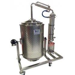Destilador industrial de aceites esenciales de flores, hierbas y frutas de 250lt