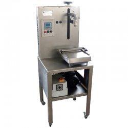 Llenadora por peso para aceite y líquidos densos Fluida MVE-A potencia 0,5 HP y 600 L/H