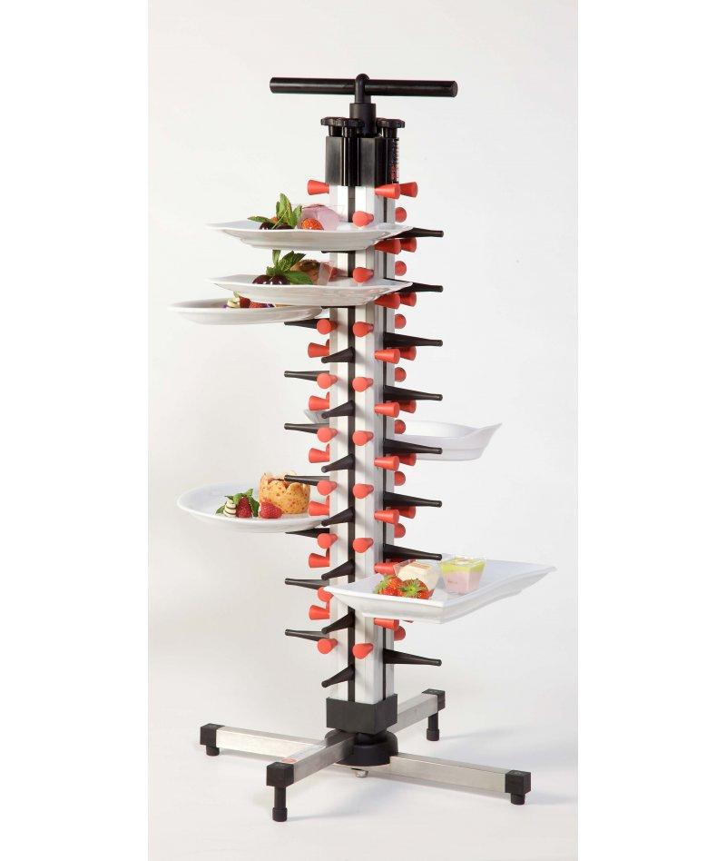 Soporte de platos de mesa para cocina Plate Mate de 36 platos