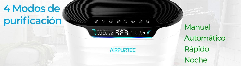 Modos de funcionamiento airpurtec H600